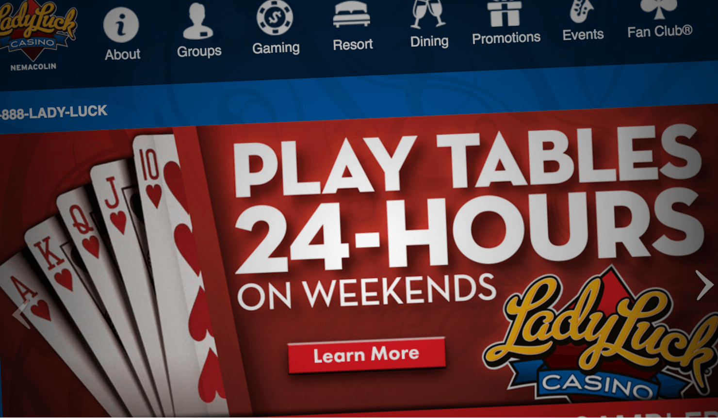 de online casino lucky lady casino