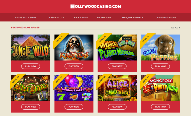 Hollywood Online Casino App Review & Promo Code